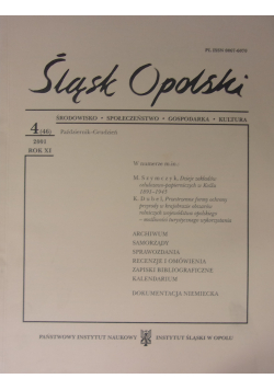 Śląsk Opolski Nr 4