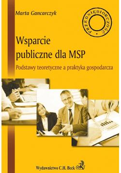 Wsparcie publiczne dla MSP