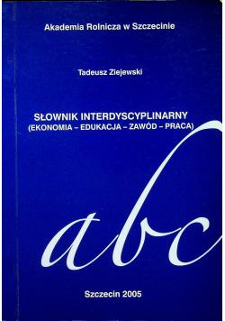 Słownik interdyscyplinarny