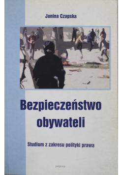 Bezpieczeństwo obywateli