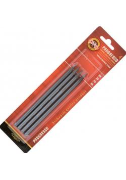 Ołówek grafitowy Progresso 9814/HB/2B/4B/6B 4szt