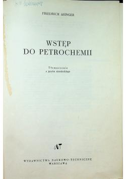 Wstęp do petrochemii