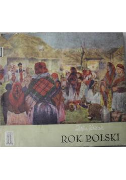 Rok Polski obyczaj i wiara + Autograf Kossak
