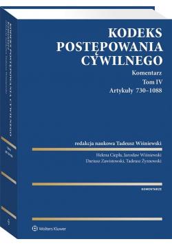 Kodeks postępowania cywilnego. Komentarz T.6
