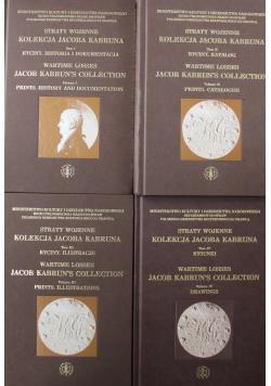 Straty wojenne kolekcji Jacoba Kabruna 4 tomy