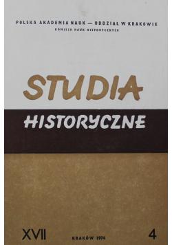 Studia Historyczne 4