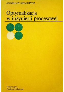 Optymalizacja w inżynierii procesowej