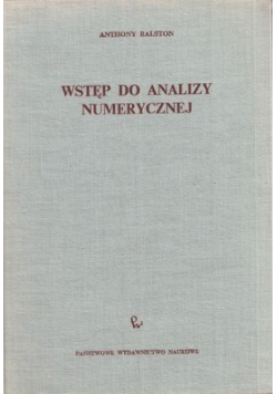 Wstęp do analizy numerycznej