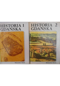 Historia Gdańska Tom I i II
