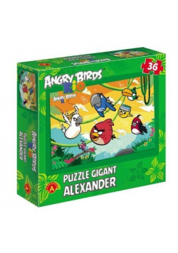 Angry Birds Rio. Puzzle 36 - Gigant ALEX