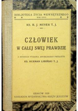 Człowiek w całej swej prawdzie 1929 r