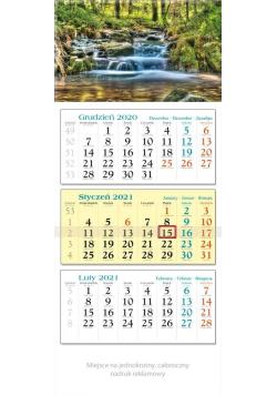 Kalendarz 2021 Trójdzielny Strumień KT4