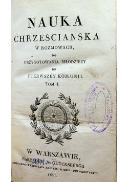 Katechizm czyli nauka chrześcijańska 1821 r