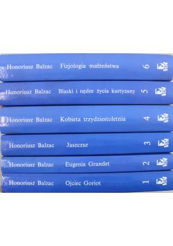 Balzac 6 książek