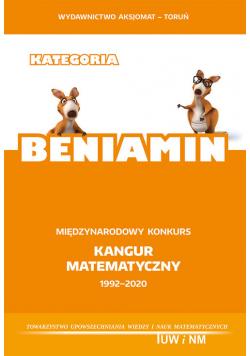 Kategoria Beniamin Międzynarodowy konkurs Kangur Matematyczny 1992-2020