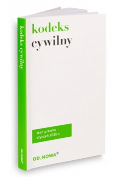 Kodeks cywilny 10.01.2020