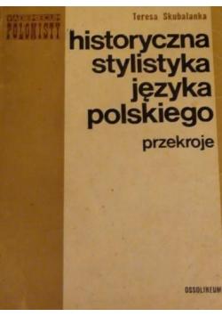 Historyczna stylistyka języka polskiego