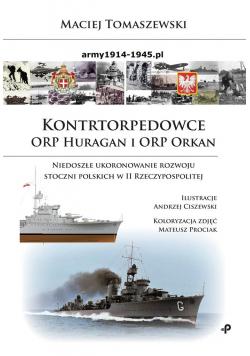Kontrtorpedowce ORP Huragan i ORP Orkan