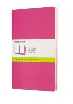 Zestaw 3 zeszytów Cahier Journals 13x21 linie