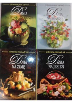 Gotowanie przez cały rok zestaw 4 książek