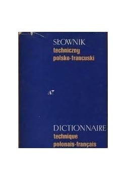 Słownik techniczny polsko francuski