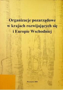 Organizacje pozarządowe w krajach rozwijających się i Europie Wschodniej