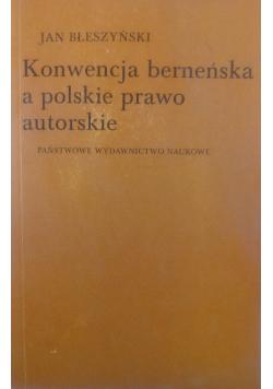 Konwencja berneńska a polskie prawo autorskie