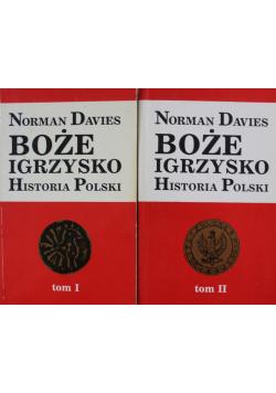 Boże Igrzysko Historia Polski 2 Tomy