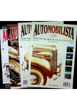 Automobilista miesięcznik miłośników starej motoryzacji 4 numerów