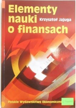 Elementy nauki o finansach