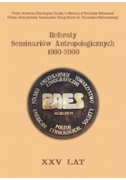 Referaty Seminariów Antropologicznych 1990 2000