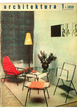 Architektura 1 1959