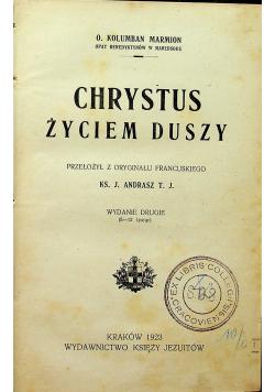 Chrystus życiem Duszy 1923r