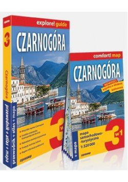 Explore! guide Czarnogóra 3w1 w.2019