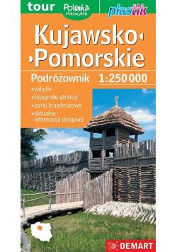 Kujawsko-pomorskie (podróżownik)- mapa turystyczna