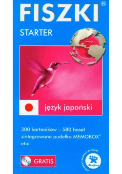 FISZKI język japoński Starter z płytą mini CD