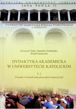 Dydaktyka akademicka w uniwersytecie katolickim