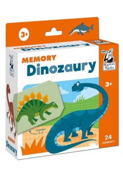 Kapitan Nauka. Memory. Dinozaury 3+