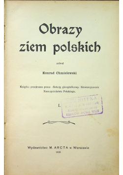 Obrazy ziem polskich 1908r