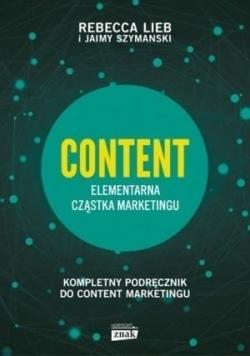 Content Elementarna cząstka marketingu