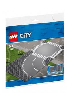 Lego CITY 60237 Zakręt i skrzyżowanie