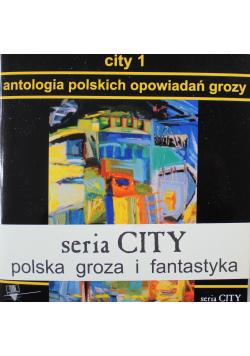 City 1 Antologia polskich opowiadań grozy