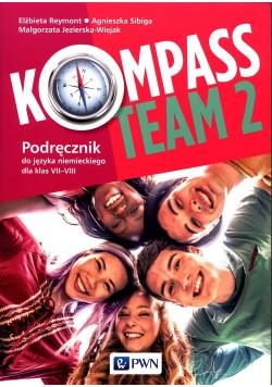 Kompass Team 2 Podręcznik do języka niemieckiego 7-8