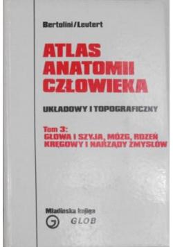 Atlas anatomii człowieka Układowy i topograficzny Tom 3