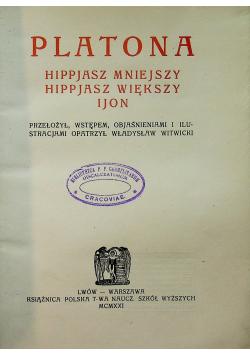 Pisma Platona, 1921 r.