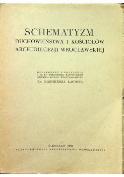 Schematyzm Duchowieństwa i Kościołów Archidiecezji Wrocławskiej