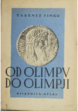 Od Olimpu do Olimpji 1928 r.