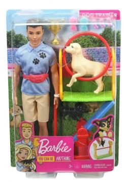 Barbie Zestaw Ken kariera zawodowa GJM34