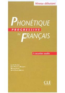PHONETIQ PROGRES FRAN DEB 3 cassettes audio
