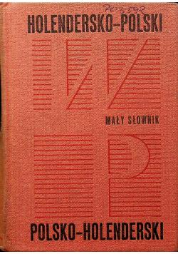 Mały słownik holendersko polski i polsko-holenderski